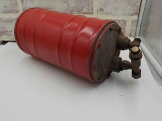 fuel pressure canister