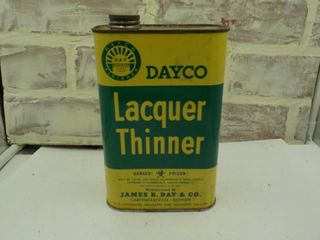 super clean lacquer thinner can