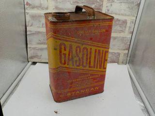 metal gasoline can