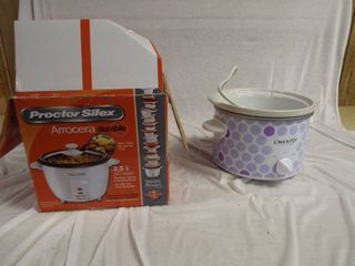 Small crockpot and a protector silex durable rice cooker