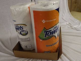 lot of 3 new paper towel roll s