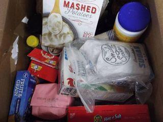 Box of food item s