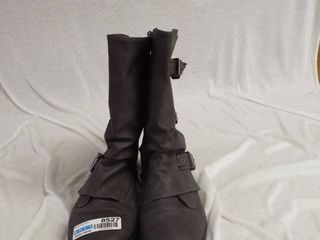 A pair of blowfish malibu grey boot s size 8