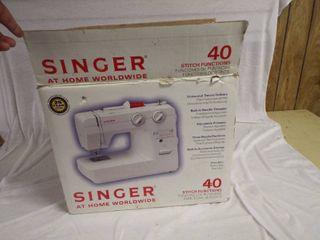 Singer 40 stitch function s sewing machine