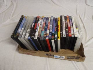 lot with 24 DVD s
