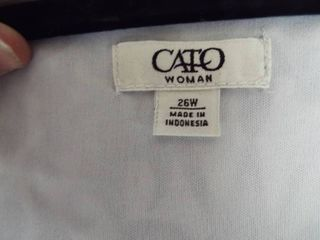 Cato wome s dress size 26w