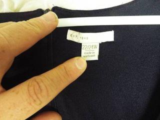 Navy blue women s jumpsuit size 22 24w