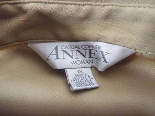 Casual corner annex women long skirt suit size Xl