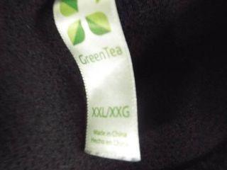 Green tea women s pull over jacket size 2Xl