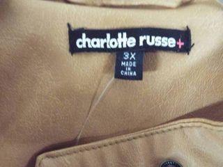 Charlotte russe women s jacket size 3Xl