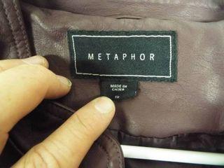 Metaphor women s jacket size Xl