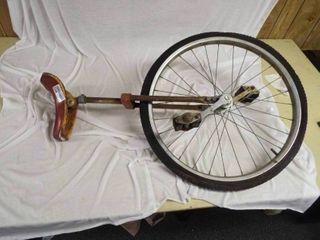 Vintage unicycle bike