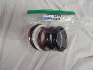 lot of plastic bracelet s