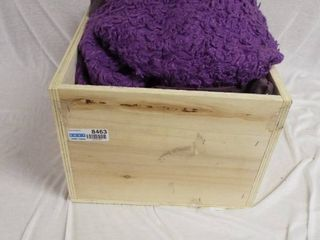 Wooden box various sheet s