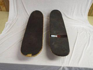 2 Skateboards