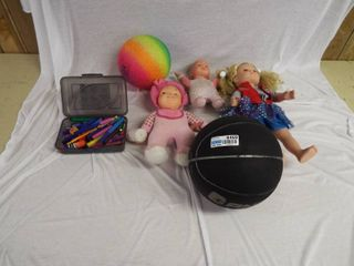 lot of various kids toys