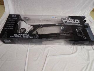 Halo rise above surmontez big wheel scooter