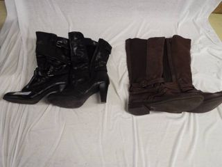 2 Pairs of women s boots