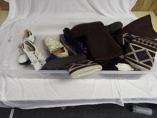 lot of various women s shoes