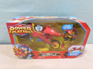 Power players axel s motorcycle includes exclusive figurine