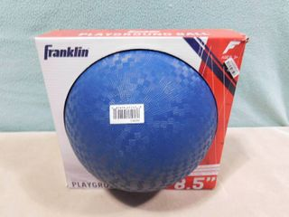 Franklin blue playground ball 8 5in
