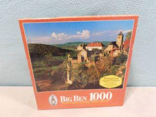 Big Ben 1000 piece puzzle Chatueau Chalon  France