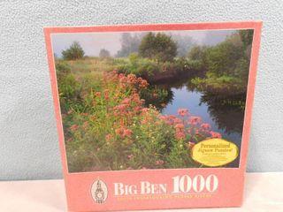 Big Ben 1000 piece puzzle lawrence Brook  Royalston  MA