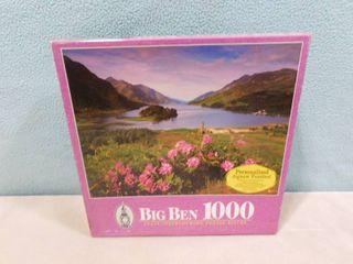 Big Ben 1000 piece puzzle Glenfinnan  Scotland