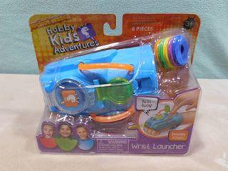 Hobby kids adventures wrist launcher  6 pieces