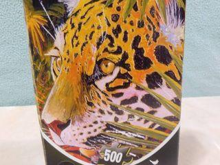 500 piece leopard puzzle