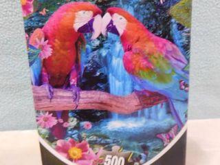 500 piece parrot puzzle
