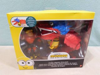 Mattel Illumination minions the rise of Gru dragon disguise story pack