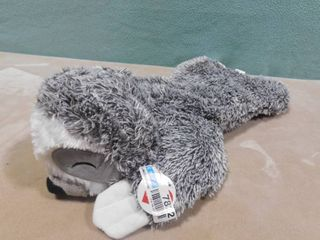 Boots Barkley cuddle dog toy in shape of sloth