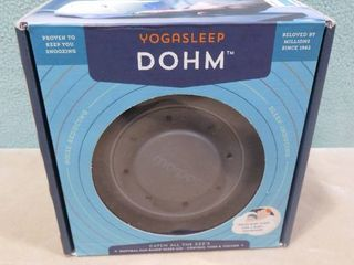 Yogasleep Dohm  white noise machine  perfect for babies and those who have trouble sleeping through the night