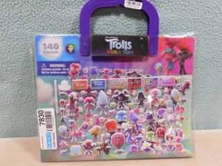 Trolls world tour 140 count stickers