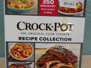 Crockpot large recipe collection with more than 350 recipes