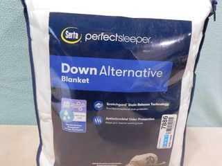 Serta perfect sleeper full queen down alternative blanket