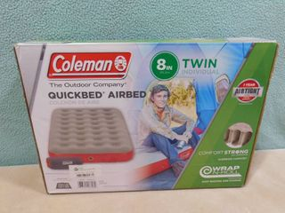 Coleman 8 in twin individual quickbed airbed