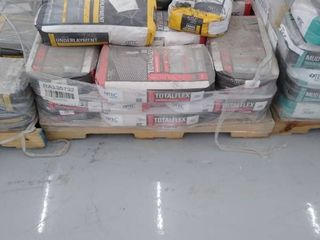 pallet of underlayment and total flex