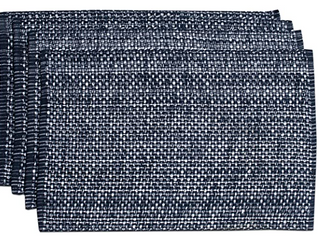 Trend Collection 173 Tone Tone May Navy Set Of Two 13  x 19