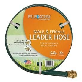 FlEXON 5 8 in x 6 ft light Vinyl leader Hose