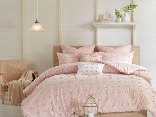 Pink Kay Comforter Set  Full Queen