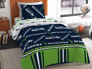 NFl Seattle Seahawks Bed In Bag Set