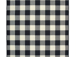 The Gray Barn Told Gait Gingham Check Doormat