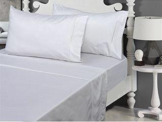 800 Thread Count  100  Cotton Sateen Bed Sheet Set  Retail 97 49