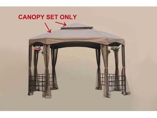 Sunjoy Replacement Canopy Set for Gazebo Model l GZ240PST A  Retail 91 49