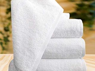 100  Turkish Cotton Bath Towel 4 Pack