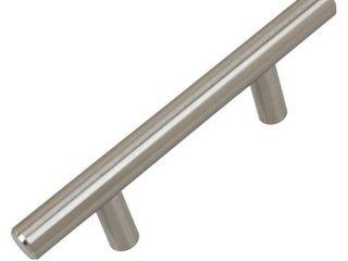 Set of 5 w  Screws GlideRite 2 1 2 in  Center Solid Modern Cabinet Bar Pull  Oil Rubbed Bronze