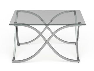 Furniture of America Artemis Modern Chrome Coffee Table