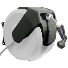 AMES 2416500 Neverleak AutoWinder Retractable Wall Mount Reel 100 Foot Hose Capacity